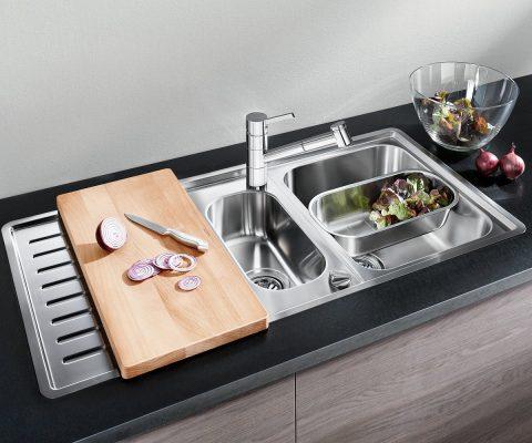 Выбираем кухонную мойку