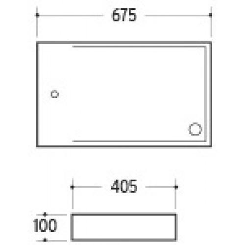 Керамическая раковина для ванной MLN-A306