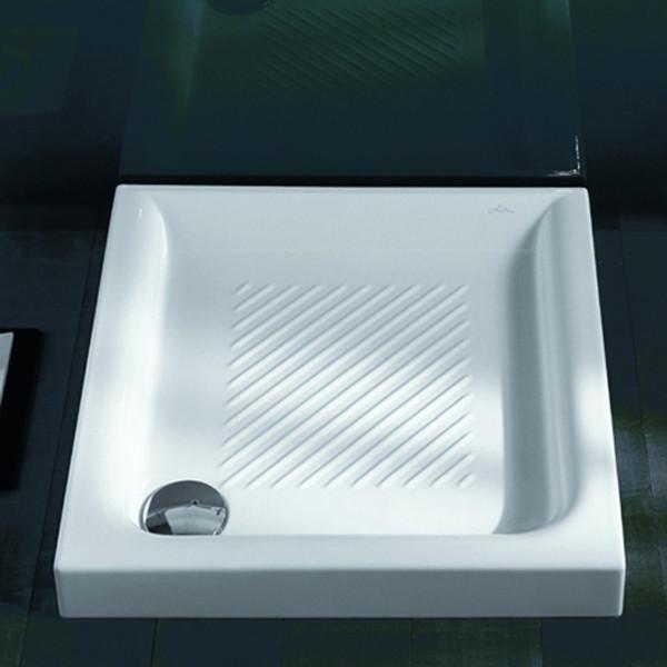 Поддон душевой керамический Hatria Drop Y0NQ01 90*90 см, сифон