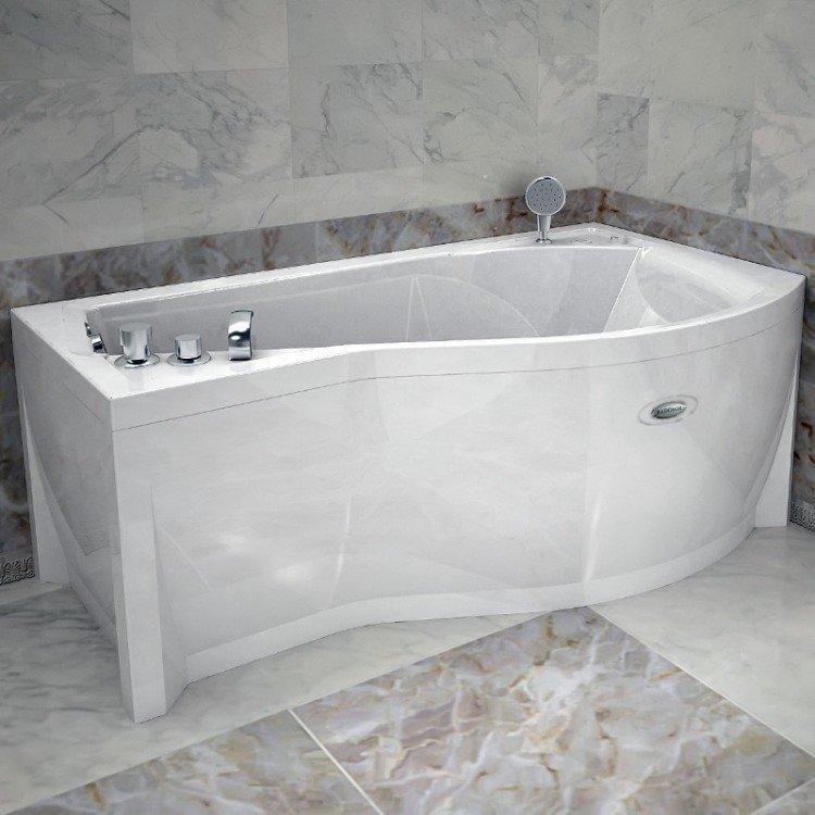 Акриловая ванна Vannesa Миранда 168*95 см, каркас