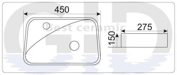 Керамическая раковина  N9275