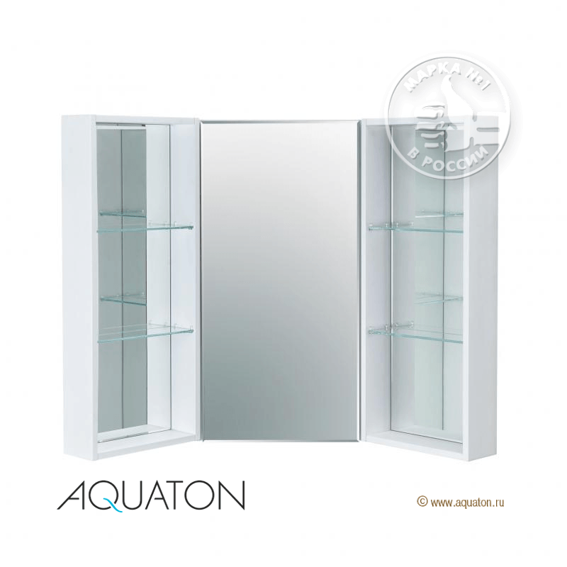 Центральный модуль зеркального-шкафа АКВАТОН Кантара