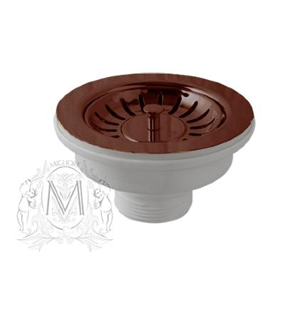Слив для кухонной мойки Migliore ML.RIC-10.107 медь