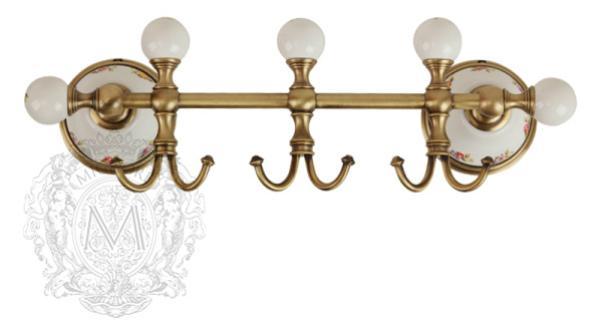 Планка с тремя крючками Migliore Provance Ml.PRO-60.539