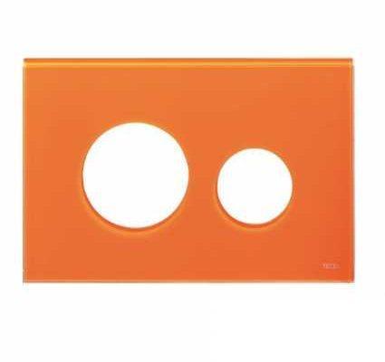 Лицевая панель Tece Loop Modular 9 240 673, оранжевая