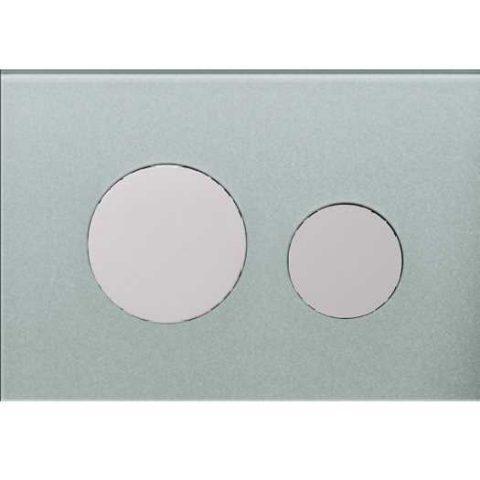 Лицевая панель Tece Loop Modular 9 240 676, серебряная