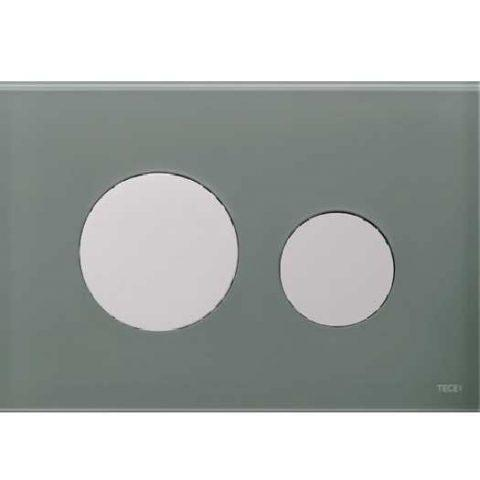 Лицевая панель Tece Loop Modular 9 240 677, серо-голубая
