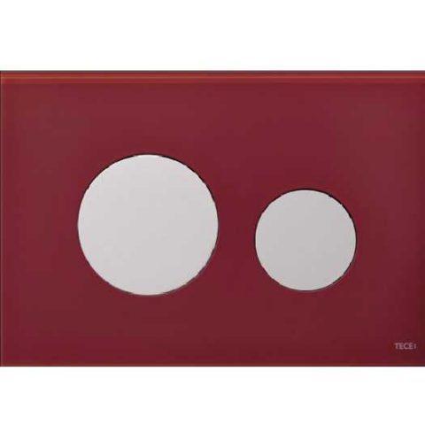Лицевая панель Tece Loop Modular 9 240 679, рубиновая
