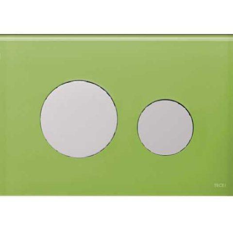 Лицевая панель Tece Loop Modular 9 240 685, зеленый Burgbad