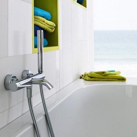 Смеситель для ванны и душа NOBILI Acquerelli AQ93110CR