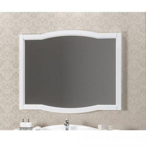 Зеркало OPADIRIS Лаура 100 см белое без патины