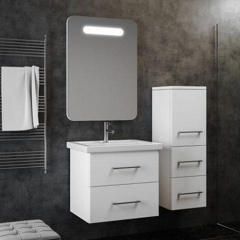 Зеркало с подвсеткой SMILE Арабеско 60 см