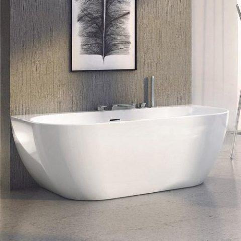 Ванна из литого акрила RAVAK Freedom W 166 см