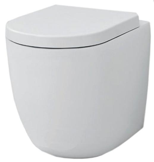 Унитаз ArtCeram File 2.0 FLV002 01; 00, приставной, цвет - белый глянцевый