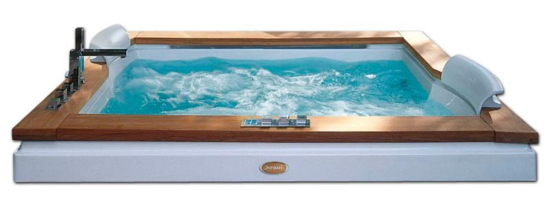 Акриловая ванна Jacuzzi Aura PLUS 180x150 9F43-337A
