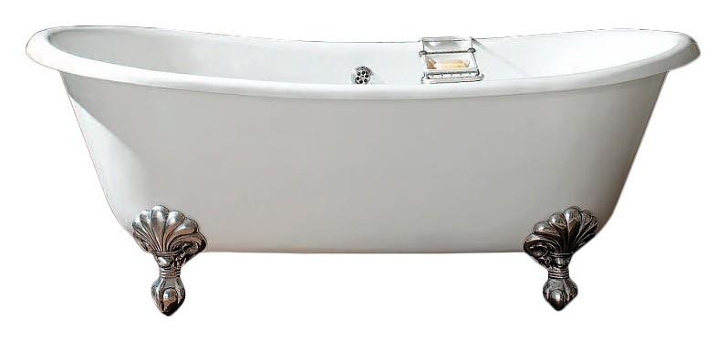 Чугунная ванна Devon&Devon Admiral 182x81 2MRADMIRALCRDD+IMBDEVON