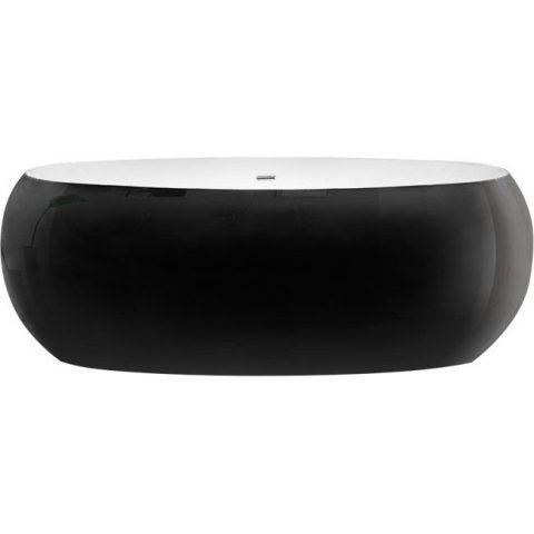Акриловая ванна BelBagno 180x90 BB18-NERO/BIA