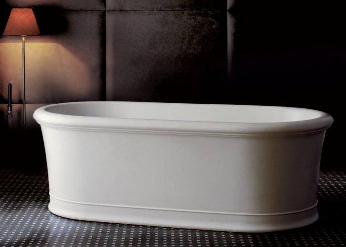 Ванна из литого мрамора Devon&Devon Celine 177x90 1NACELINE+IMBDEVON