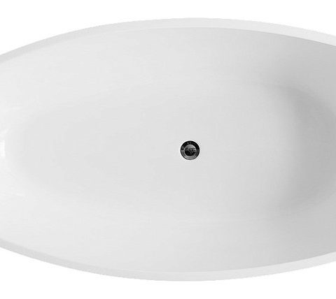 Акриловая ванна BelBagno 170x85 BB42-1700-PERL