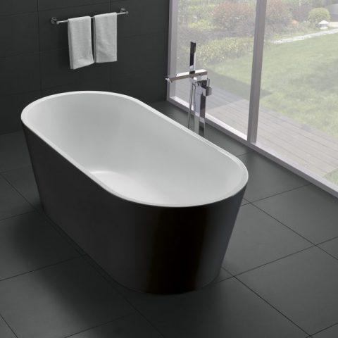 Акриловая ванна BelBagno 170x80 BB71-1700-NERO