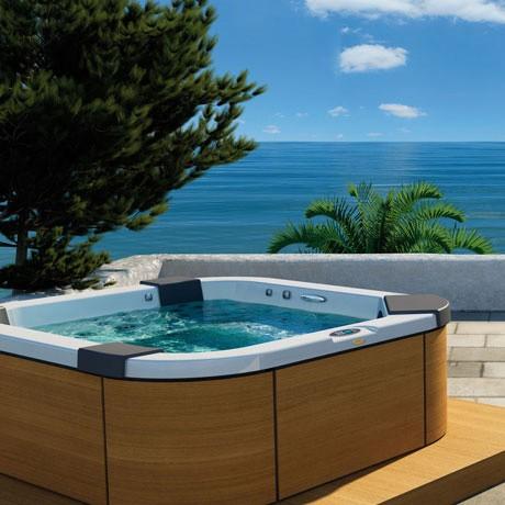 Мини-бассейн Jacuzzi Santorini Pro 230х215 9444-83052 встраиваемый