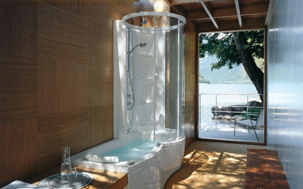 Акриловая ванна Jacuzzi J.Twin Idro 170x86 9448-188A