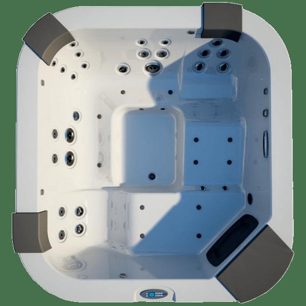 Мини-бассейн Jacuzzi Santorini Pro 230х215 9444-82965 Platinum