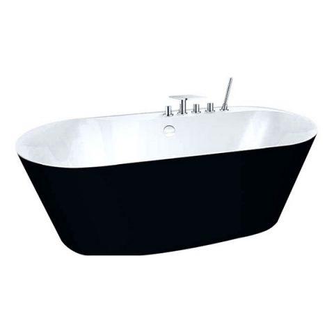 Акриловая ванна BelBagno 178x84 BB14-NERO/BIA
