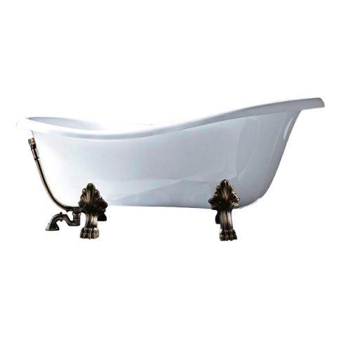 Акриловая ванна Gruppo Treesse EPOCA 170x80 V5071 бронза