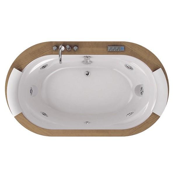 Акриловая ванна Jacuzzi Opalia 190x110 9F43-498A