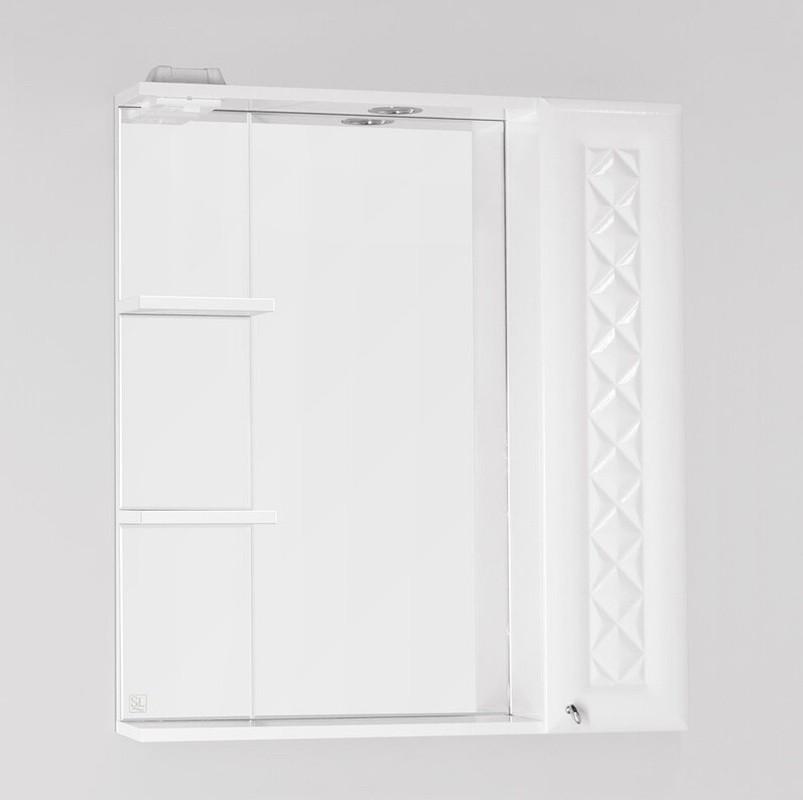 Зеркало-шкаф Style Line Канна 75/С Люкс, белый