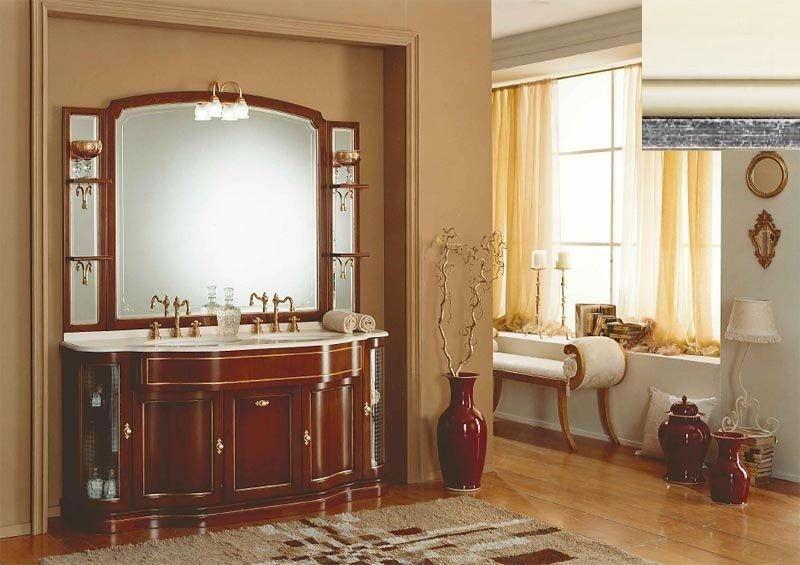 Комплект мебели Eurodesign IL Borgo Композиция № 6, Avorio silver patiano/айвори с серебром