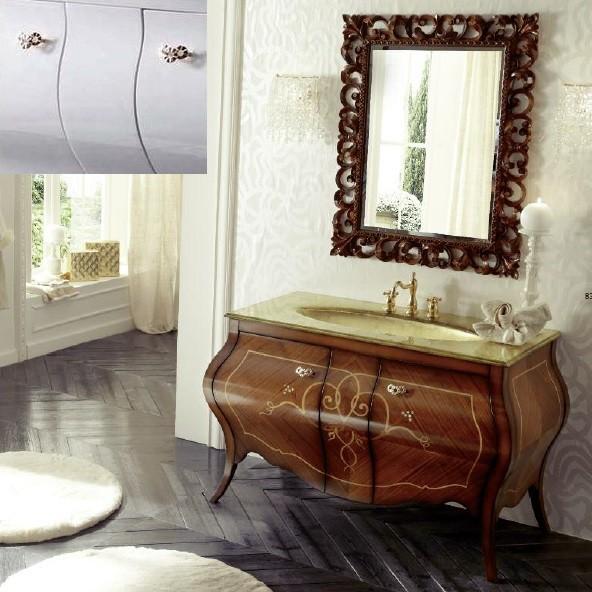 Комплект мебели Eurodesign Prestige Композиция № 7, Bianco Lucido/Белый окрашеный