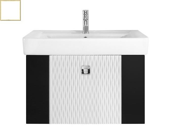 Тумба с раковиной Vod-ok Леон 70, цвет белый
