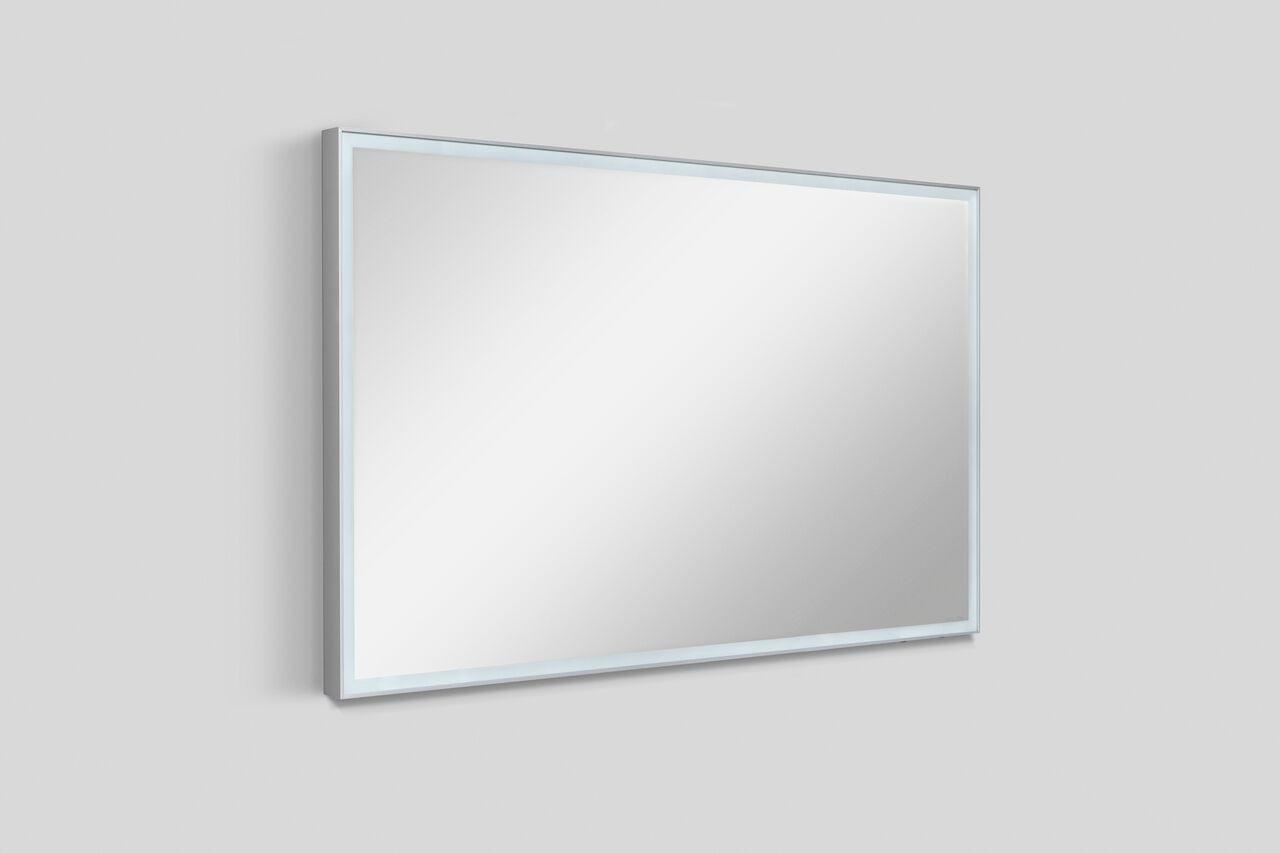 Зеркало настенное Am.Pm SPIRIT 2.0 M70AMOX0801SA, с LED-подсветкой, 80 см