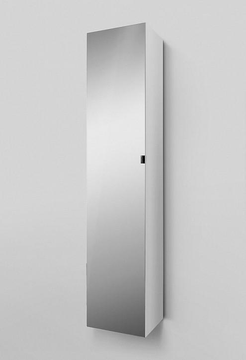 Шкаф-колонна Am.Pm Spirit 2.0 M70ACHML0356WG подвесной, левый, 35 см, зеркальный фасад, белый глянец