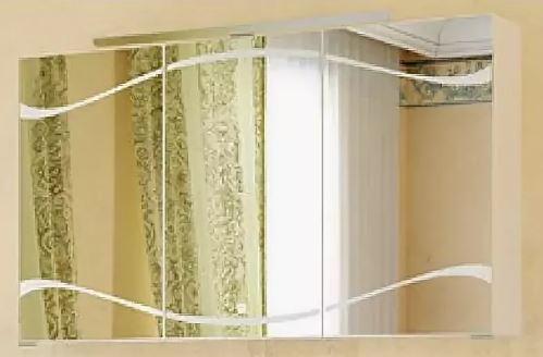 Зеркальный шкаф Clarberg Due amanti 120 Due.04.12/W
