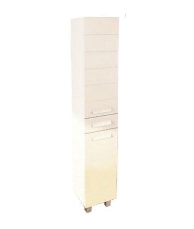 Пенал Comforty Модена 35 R белый