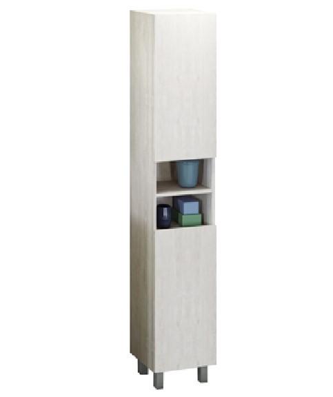 Шкаф-колонна Comfortу Верона-35-Н дуб белый