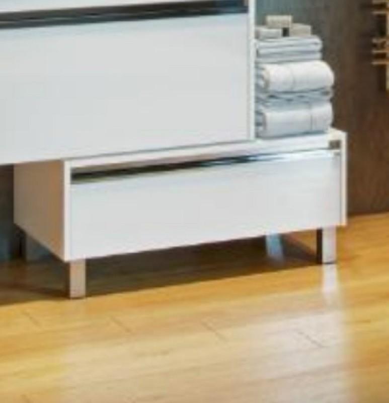 Комод Акватон Капри 1A231103KP010 80 см напольный, цвет белый глянцевый