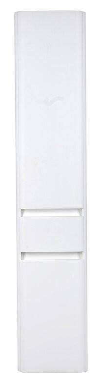 Пенал El Fante Алтантика ЛС-00000694 35 см подвесной/напольный с бельевой корзиной, Люкc антискрейч, Plus, белый