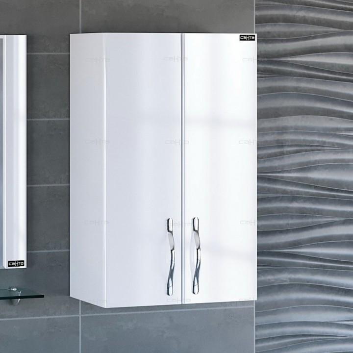 Шкаф подвесной СаНта Виктория 50 710014 над стиральной машиной