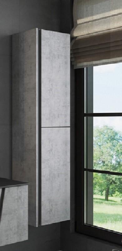 Шкаф-пенал Comfortу Эдинбург-40 бетон светлый