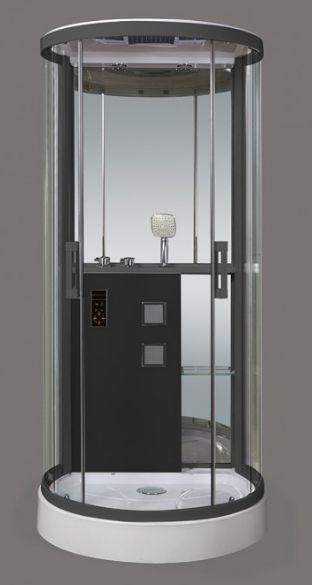 Душевая кабина Grossman GR-140, полукруглая, 90 x 100 см