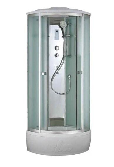 Душевая кабина Timo Comfort T-8880 C Clean Glass, стекло прозрачное, 80 x 80 см