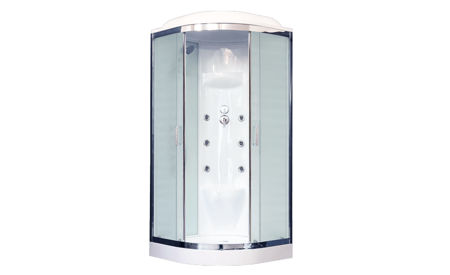 Душевая кабина Royal Bath RB90HK7-WC-CH, 90 х 90 см