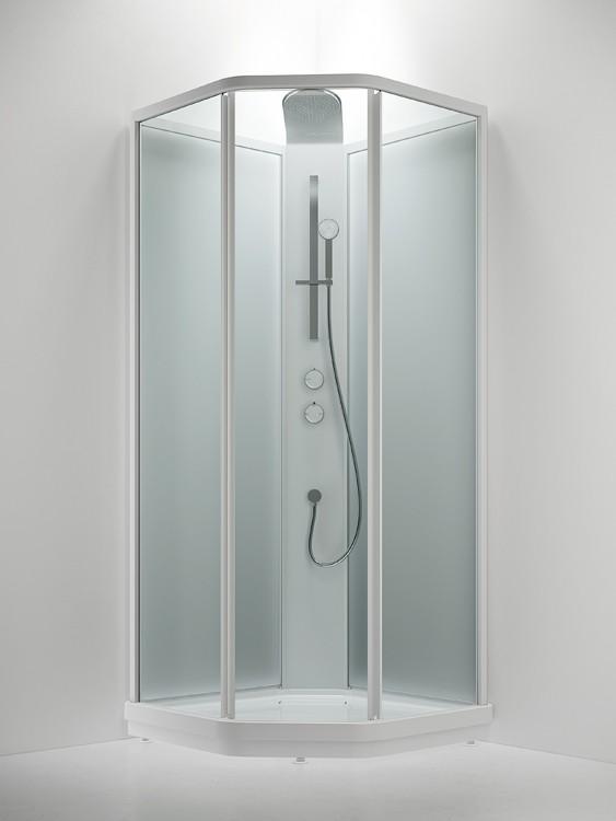 Душевая кабина INR Bric 3 63032299, прозрачное/матовое стекло, 90 x 90 см
