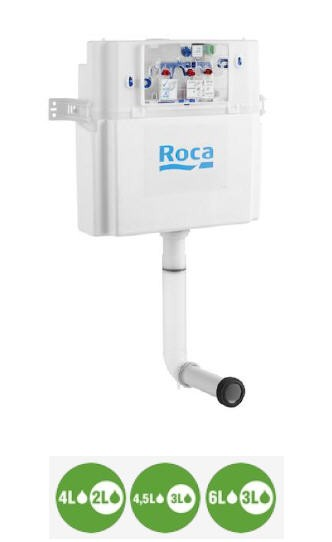 Смывной бачок скрытого монтажа Roca Basic Tank 890090200