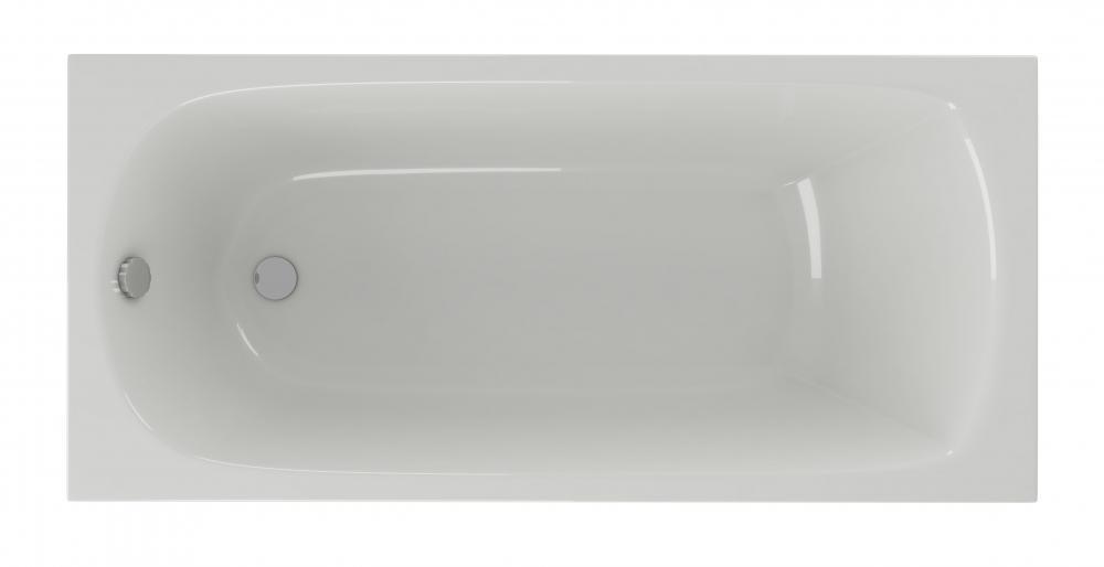Ванна акриловая Акватек Ника 150 х 75 см