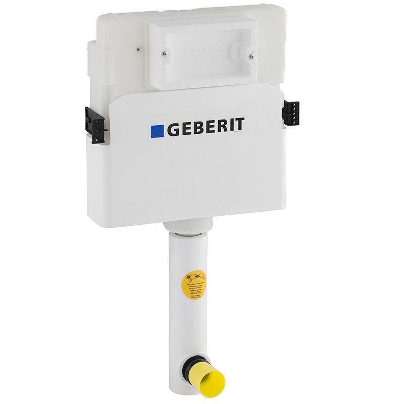Смывной бачок скрытого монтажа Geberit UP 100 Delta 109.100.00.1 для унитазов, с отводом
